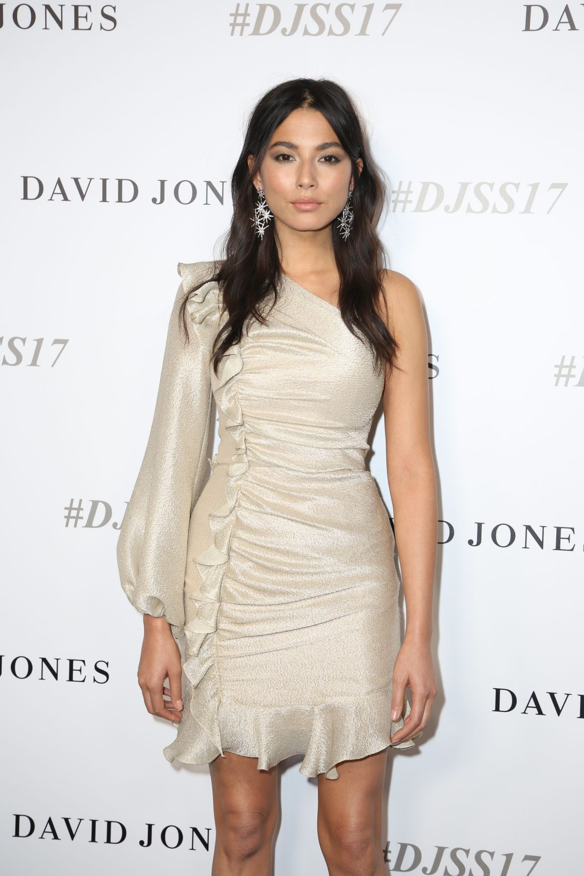 JESSICA GOMES at David Jones S/S 2017 Collections Launch in Sydney 08/09/2017