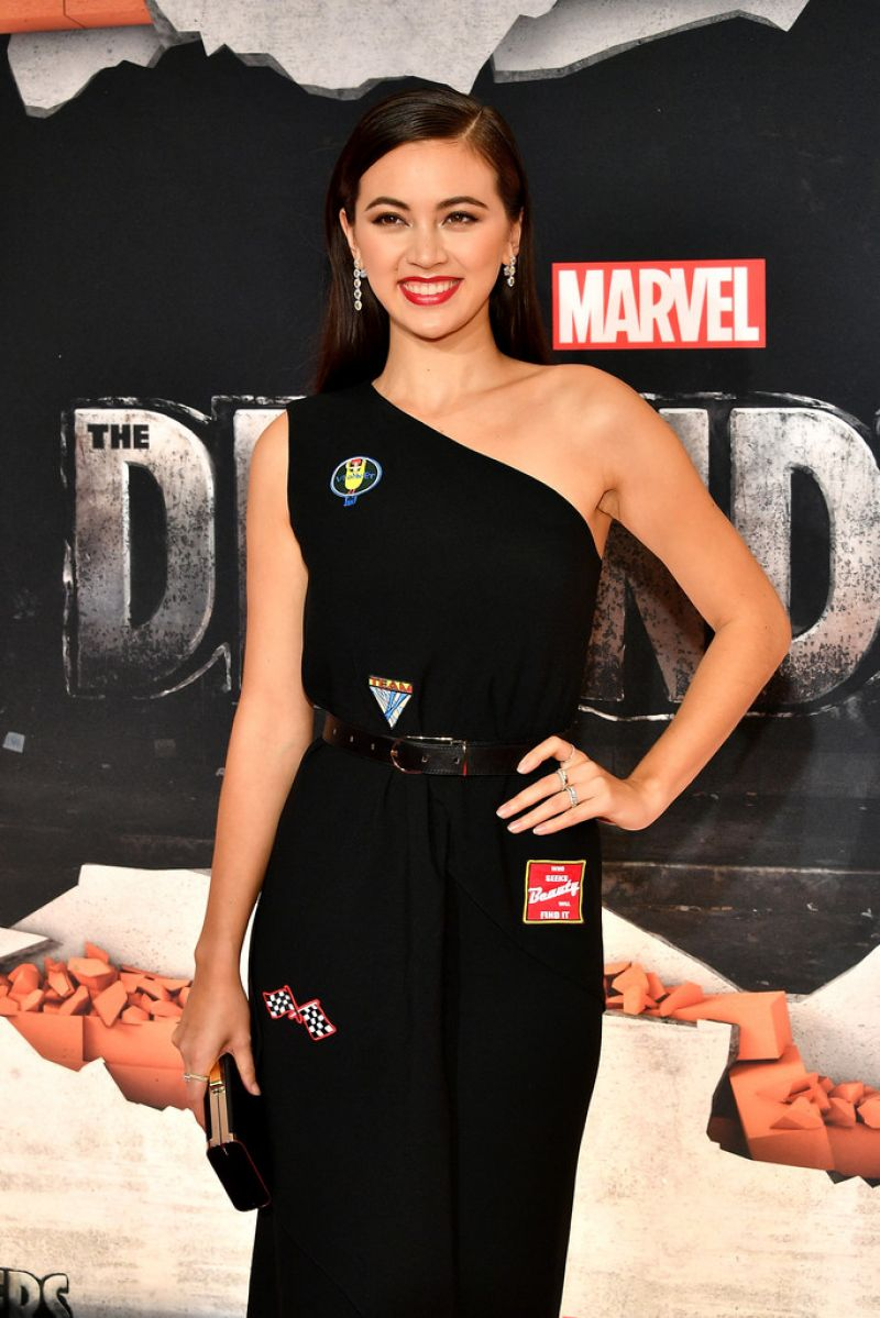 JESSICA HENWICK at The Defenders Premiere in New York 07/31/2017