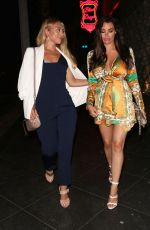 JESSICA WRIGHT Night Out in Los Angeles 08/19/2017