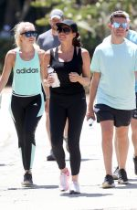 JESSICA WRIGHT Out Hiking at Runyon Canyon in Los Angeles 08/19/2017