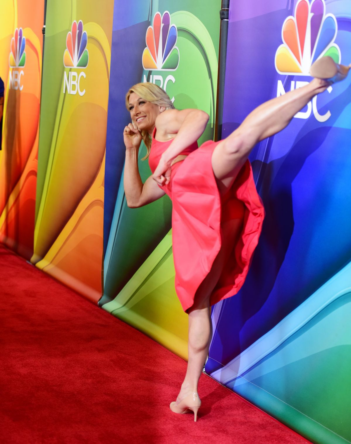 JESSIE GRAFF at NBC Summer Press Tour in Los Angeles 08/03/2017
