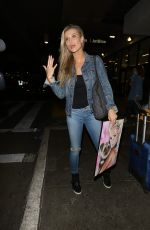 JOANNA KRUPA Arrives at LAX Airport in Los Angeles 08/20/2017