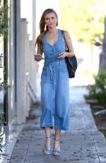 JOANNA KRUPA at a Gas Station in Los Angeles 08/08/2017