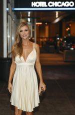 JOANNA KRUPA at Katana Restaurant in Chicago 08/18/2017