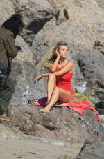 JOANNA KRUPA in Swimsuit for 138 Water Photoshoot in Malibu 08/24/2017