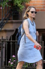 JODIE FOSTER Out and About in New York 08/17/2017