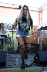 JOJO FLETCHER Performs at Billboard Hot 100 Festival in Wantagh 08/19/2017