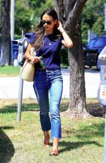 JORDANA BREWSTER in Jeans Out Shopping in Beverly Hills 08/16/2017
