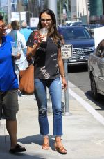 JORDANA BREWSTER Out Shopping in Beverly Hills 08/23/2017