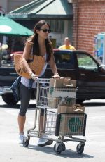 JORDANA BREWSTER Shopping at Whole Foods in Los Angeles 08/18/2017