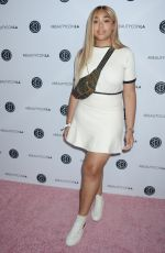 JORDYN WOODS at Beautycon LA at LA Convention Center in Los Angeles 08/13/2017
