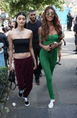 JOURDAN DUNN and NEELAM GILL at at Notting Hill Carnival in London 08/27/2017