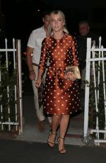 JULIANNE HOUGH at Harper's Bazaar September Issue Dinner in West Hollywood 08/22/2017