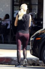 JULIANNE HOUGH Out for Breakfast in Studio City 08/29/2017