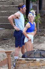 JULIANNE HOUGH Out in Big Bear Lake 08/07/2017