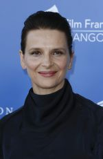 JULIETTE BINOCHE at Angouleme French-speaking Film Festival in France 08/26/2017