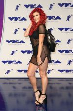 JUSTINA VALENTINE at 2017 MTV Video Music Awards in Los Angeles 08/27/2017