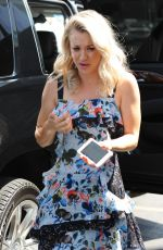 KALEY CUOCO Arrives on the Set of Extra in Los Angeles 08/30/2017