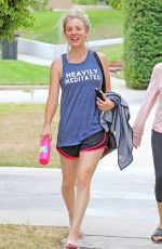 KALEY CUOCO Leaves a Gym in Studio City 08/15/2017