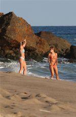 KARA DEL TORO in Bikini at a Beach in Malibu 08/21/2017