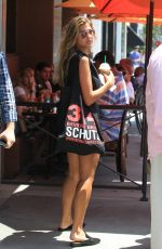 KARA DEL TORO in Shorts Out in Beverly Hills 08/16/2017
