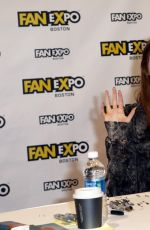 KAREN GILLAN at Comic-con in Boston 08/12/2017