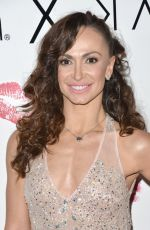 KARINA SMIRNOFF at Her Make Up Collection Launch in Beverly Hills 08/21/2017