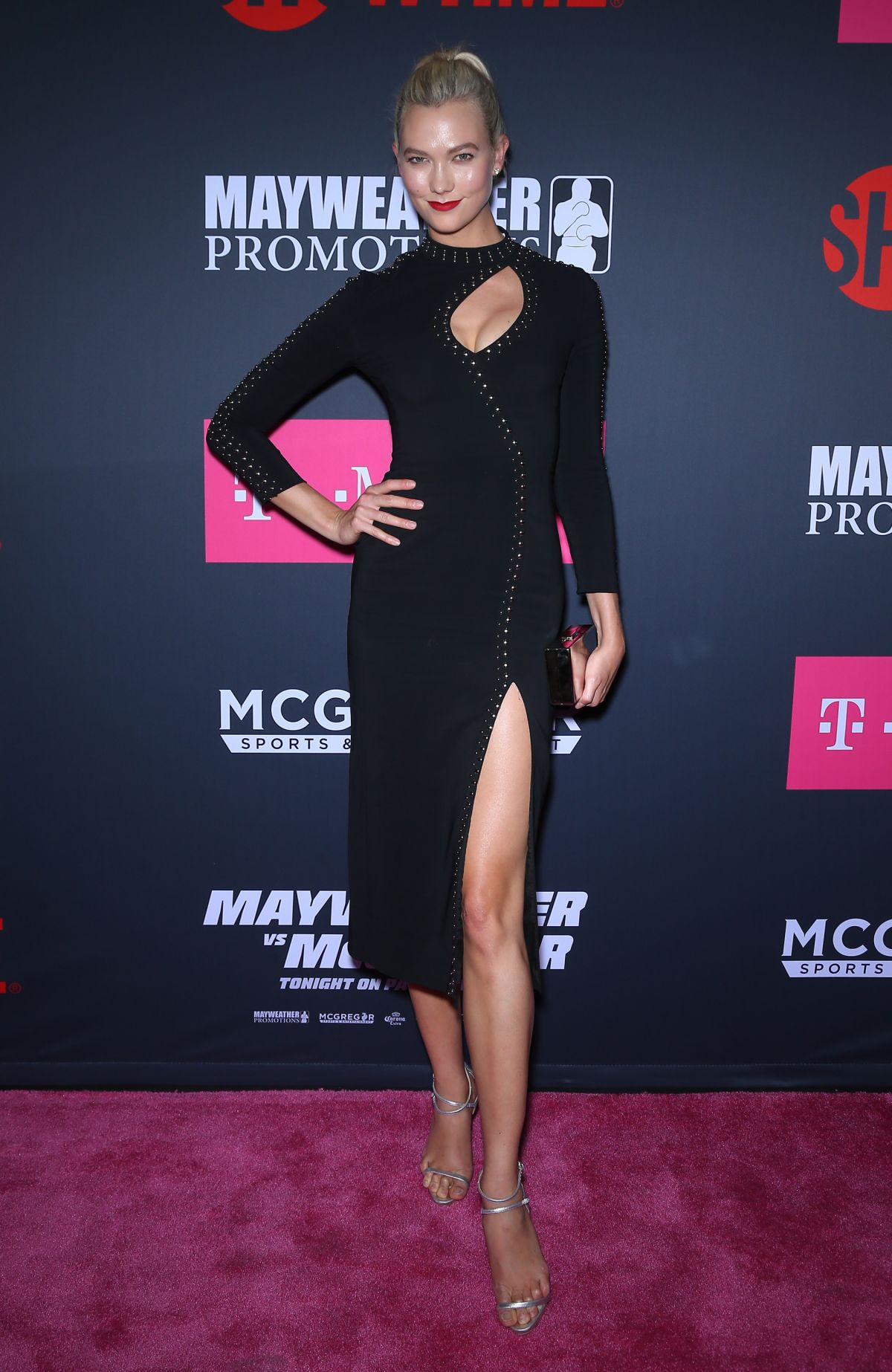 KARLIE KLOSS at Mayweather vs McGregor Pre-fight VIP Party in Las Vegas 08/26/2017