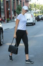 KARLIE KLOSS Leaves a Gym in New York 08/25/2017