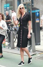 KARLIE KLOSS Out and About in New York 08/25/2017