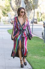 KAT GRAHAM Leaves Her Hotel in Beverly Hills 08/22/2017