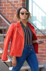 KAT GRAHAM Out and About in Beverly Hills 08/22/2017