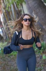 KAT GRAHAM Out Jogging in Beverly Hills 08/22/2017