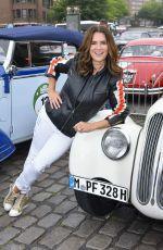 KATARINA WITT at 10th Hamburg - Berlin Classic Car Rally 08/24/2017