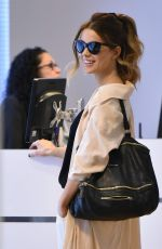 KATE BECKINSALE at JFK Airport in New York 08/27/2017