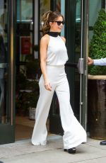 KATE BECKINSALE Heading to Live with Kelly and Ryan in New York 08/08/2017