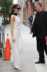 KATE BECKINSALE Leaves Live with Kelly and Ryan in New York 08/08/2017