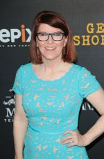 KATE FLANNERY at Get Shorty Premiere in Los Angeles 08/10/2017