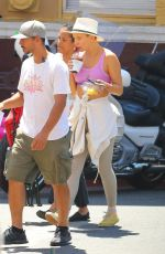KATE HUDSON at a Break on the Set of Sister in Los Angeles 08/14/2017