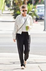 KATE MARA Out and About in Hollywood 08/23/2017