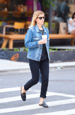 KATE MARA Out and About in New York 08/28/2017