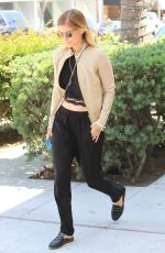 KATE MARA Out for Lunch at Cafe Gratitude in Beverly Hills 08/21/2017