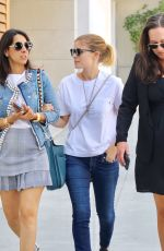 KATE MARA Out for Lunch with Friends at Cafe Gratitude in Beverly Hills 08/24/2017