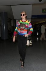 KATE UPTON at LAX Airport in Los Angeles 08/23/2017