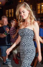 KATE UPTON at Watch What Happens Live in New York 08/01/2017