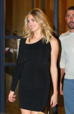 KATE UPTON Out for Dinner in New York 08/01/2017