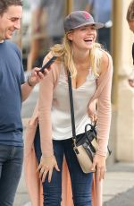 KATE UPTON Out for Lunch at Sarabeth