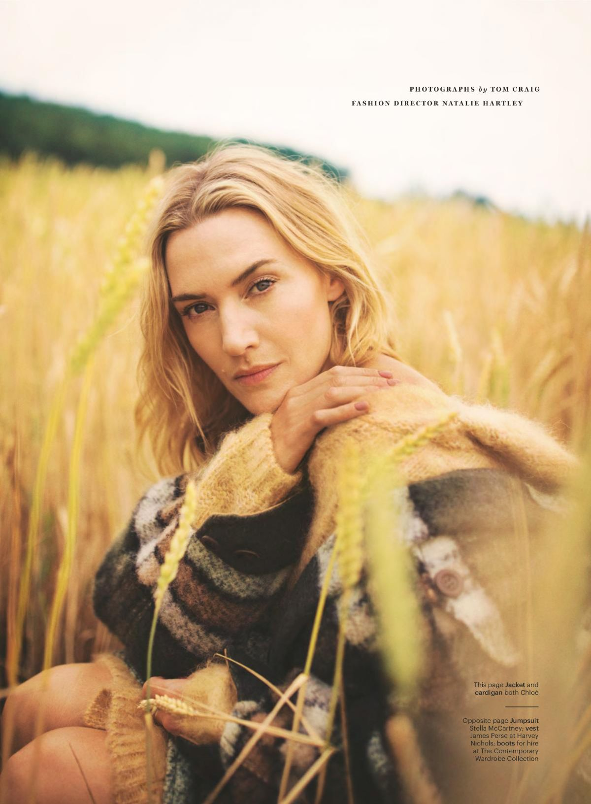 KATE WINSLET in Glamour Magazine, October 2017 Issue ...