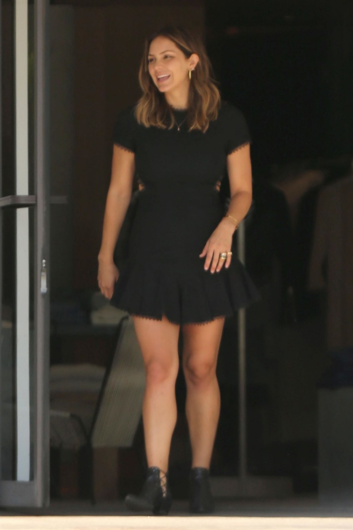 KATHARINE MCPHEE Out with Her Dog in Los Angeles 07/31