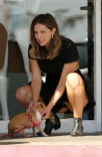 KATHARINE MCPHEE Out with Her Dog in Los Angeles 07/31/2017